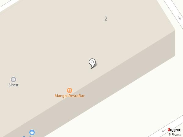 Сеть гипермаркетов эконом-класса на карте Пятигорска