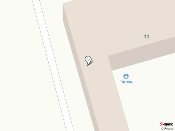 Стройдвор-Дачник на карте Пятигорска