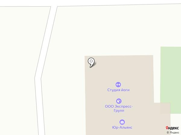 Экспресс-Групп на карте Пятигорска