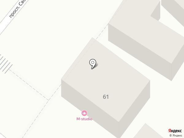 M-Studio на карте Пятигорска