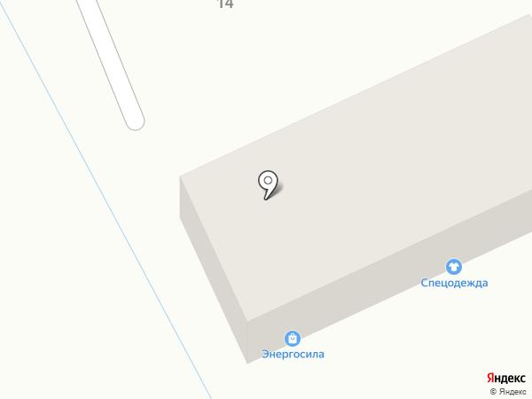 Энергосила на карте Пятигорска