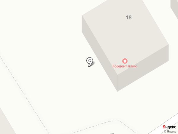 Gordent на карте Пятигорска