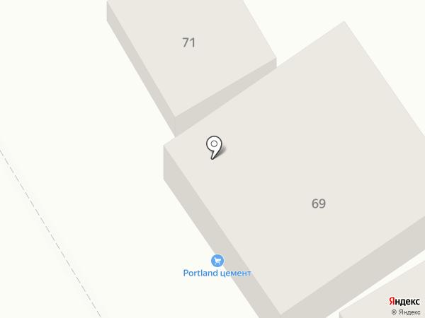 Стройматериалы на карте Пятигорска