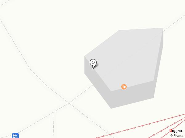 Поляна на карте Пятигорска