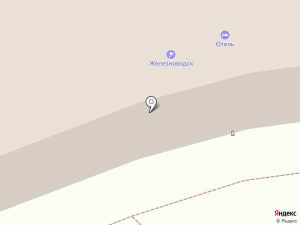 Железноводск на карте Железноводска