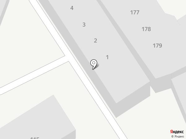 Сигнал на карте Пятигорска