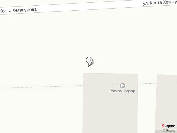 Управление Роскомнадзора по Северо-Кавказскому округу на карте Пятигорска