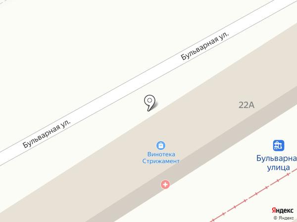 Sushi King на карте Пятигорска