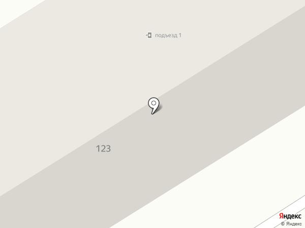 Зет Эс-Строй на карте Пятигорска