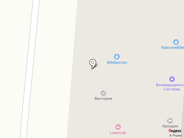 Юни-Фарма на карте Пятигорска