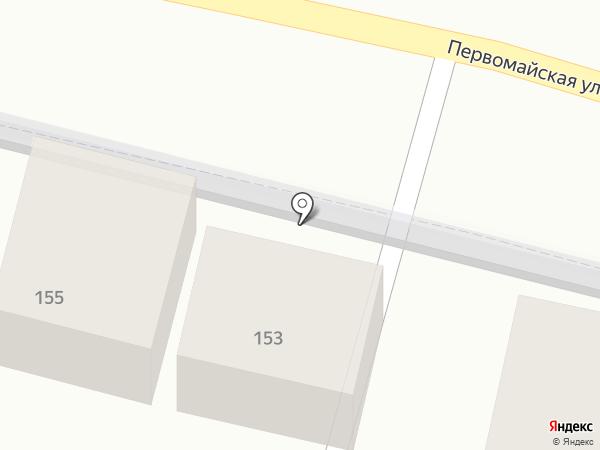 Салон автозапчастей на карте Пятигорска