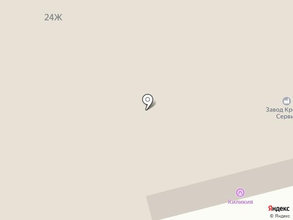 Мастер Шин на карте Пятигорска