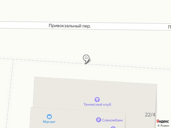 ГАРАЖ на карте Пятигорска