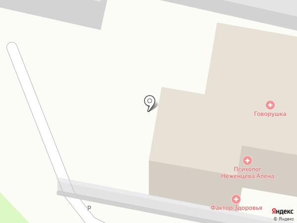 Финэкс на карте Пятигорска