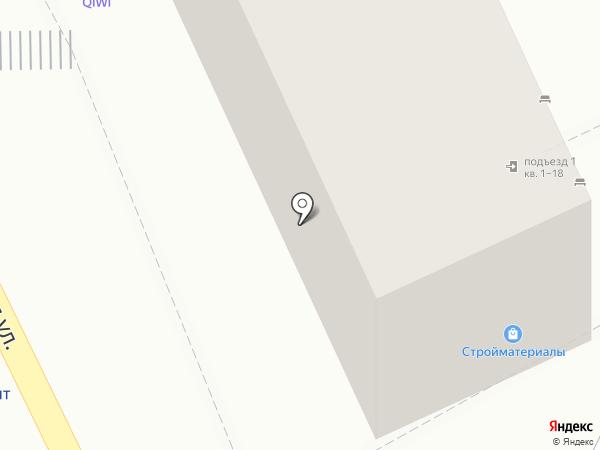 Магазин хозтоваров на карте Пятигорска