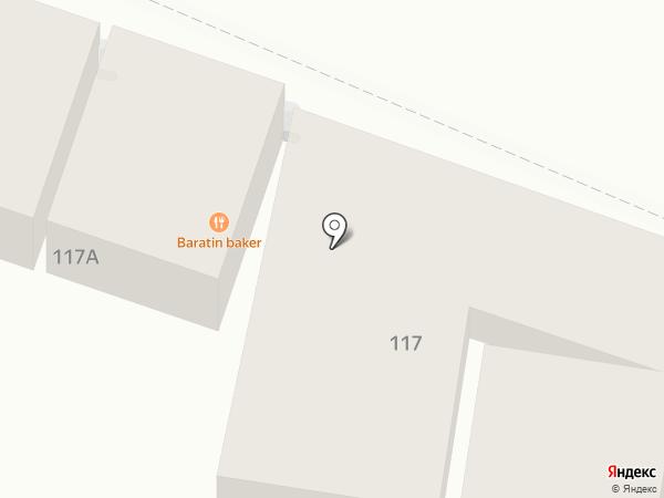 Компания автострахования на карте Пятигорска