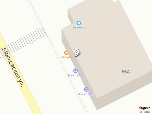 КАРМАН на карте Пятигорска