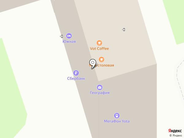 Санги Стиль на карте Пятигорска