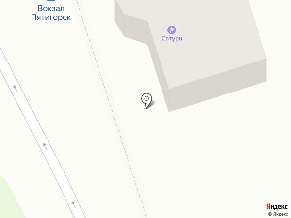 Моя столовая на карте Пятигорска