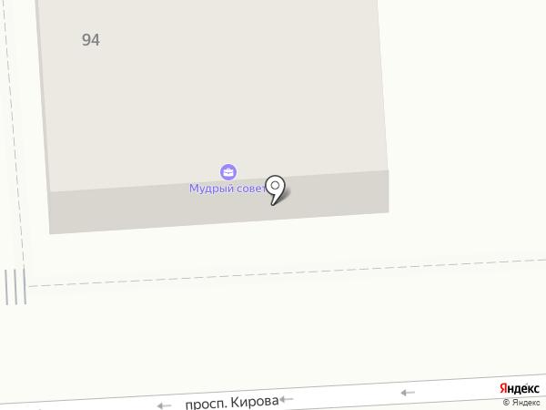 Суши-джан на карте Пятигорска