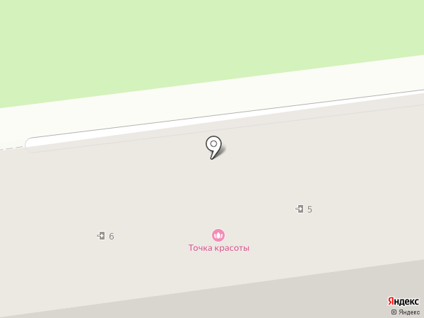 Точка красоты на карте Пятигорска