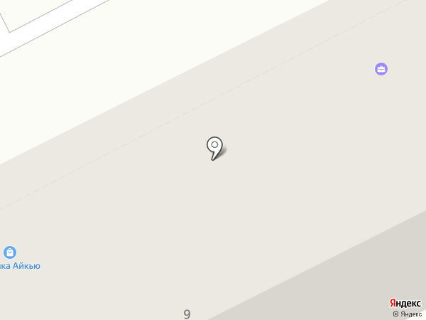 Моя планета на карте Пятигорска