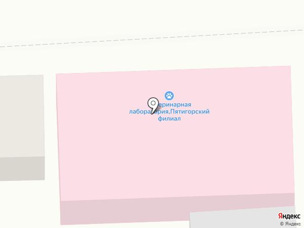 Россельхознадзор на карте Пятигорска