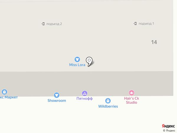 Hair`s ck studio на карте Пятигорска