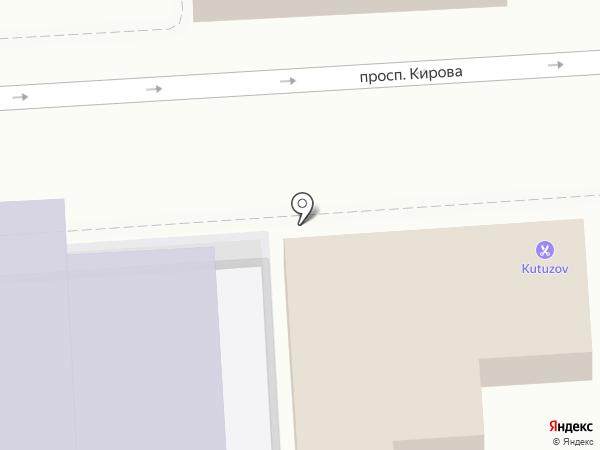 Кутузов на карте Пятигорска