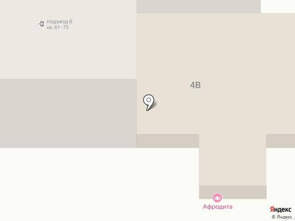 Афродита на карте Пятигорска