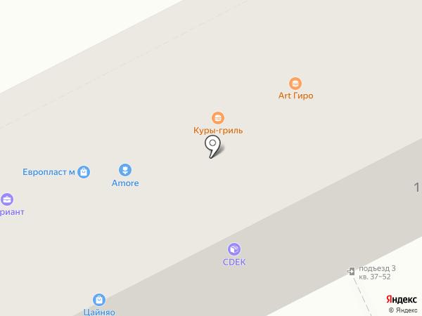 ПанТюльпан на карте Пятигорска