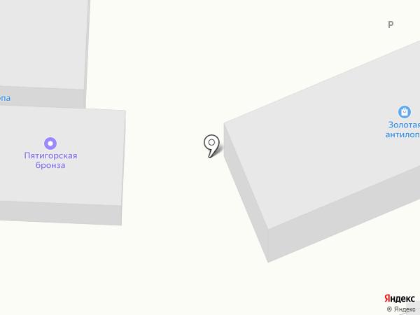 ТОРГ-ОПТ на карте Пятигорска