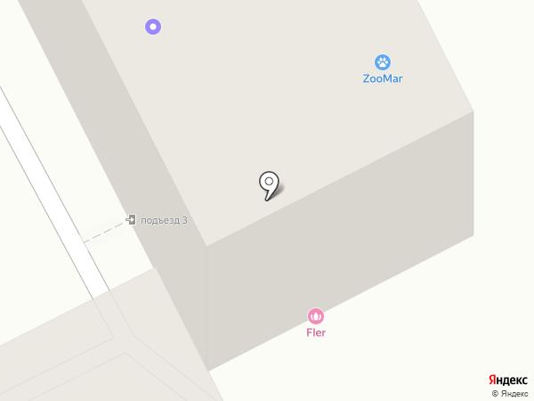 ФЛЕР на карте Пятигорска