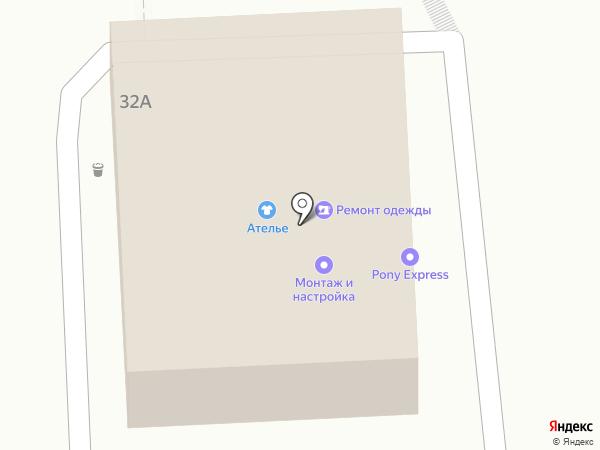 МАШУК-ТЕЛЕКОМ на карте Пятигорска