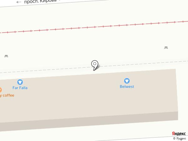 BELWEST на карте Пятигорска