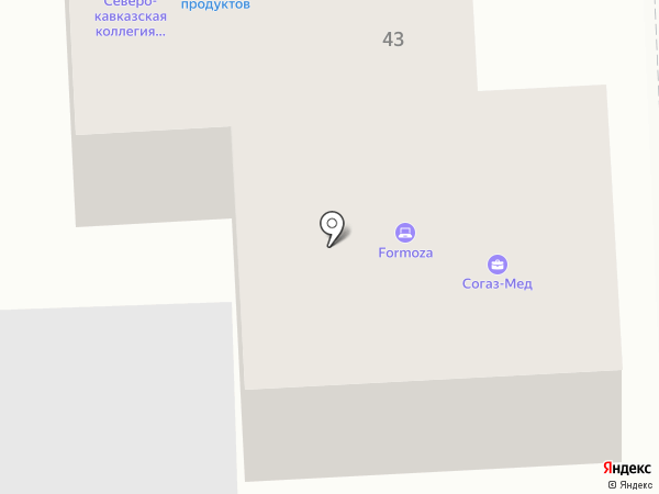 ВТБ Медицинское страхование на карте Пятигорска