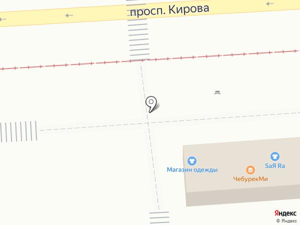 Ножевая коллекция на карте Пятигорска