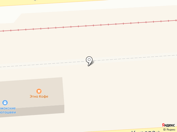 Деньги Юга на карте Пятигорска