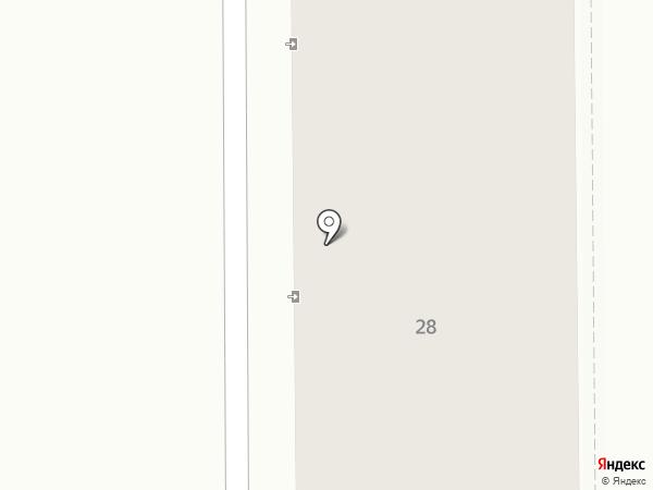Том.М на карте Пятигорска