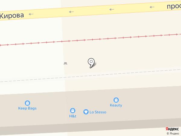 МАЖОР на карте Пятигорска