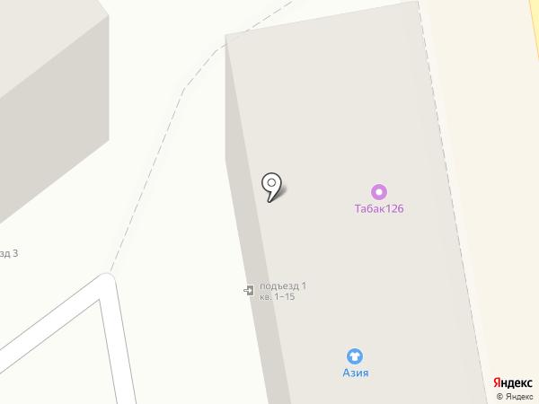 Шпилька на карте Пятигорска
