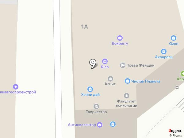 СотМастер на карте Пятигорска