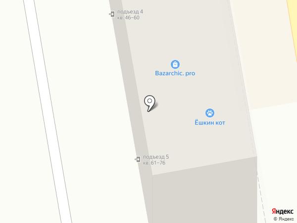 Магазин женской одежды на карте Пятигорска