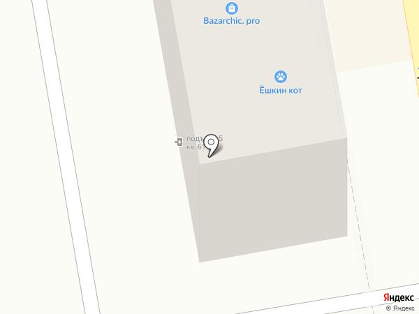 Лукошко на карте Пятигорска