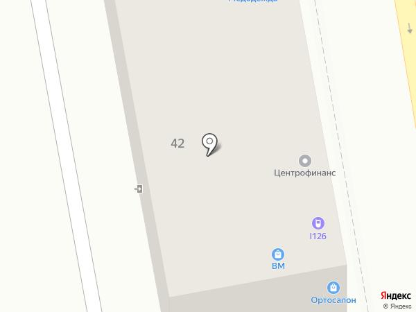 Pink House на карте Пятигорска