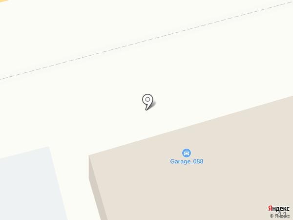 Автосалон на карте Пятигорска