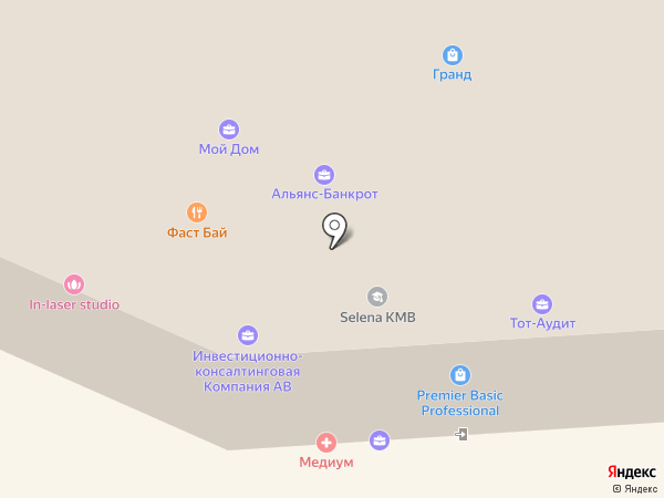 Колледж гостиничной индустрии и туризма на КМВ на карте Пятигорска