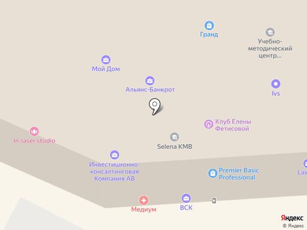 ГРАНД-ТУР на карте Пятигорска