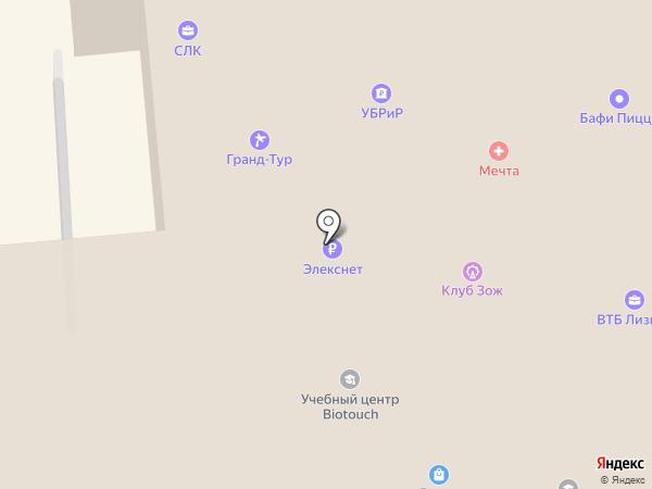 Недвижимость КМВ на карте Пятигорска