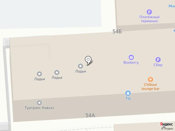 Много мебели на карте Пятигорска